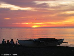 Sunset at Agoho Beach, Camiguin